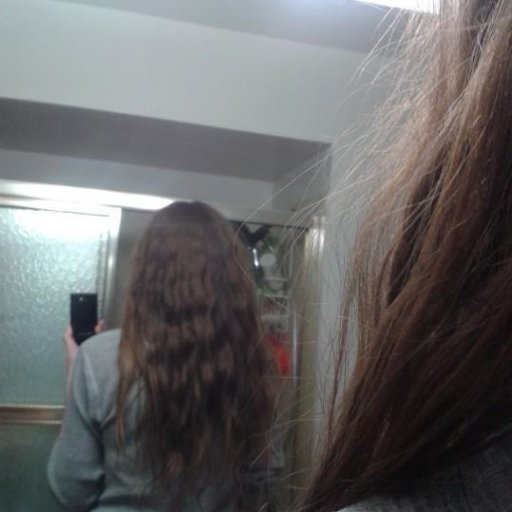 After taking dreads out Jan/feb 2013