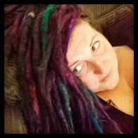 colorful dreads