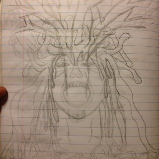 This is a sketch of a drawing i am drawing to do eventually.