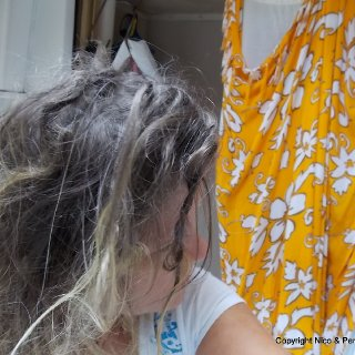 More dread babies forming every day. Trying to remain patient with the rest of my tangled mess. *2 months of dreading*