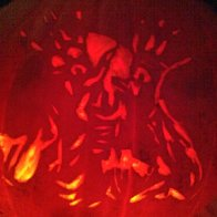 My pumpkin! paleman from pans labyrinth