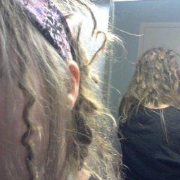 dreads 10.5 months mirror