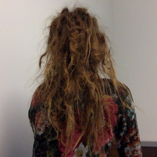 Natural Dread - 3 1/2 months - back