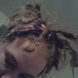 dreads 12.5 months upside down