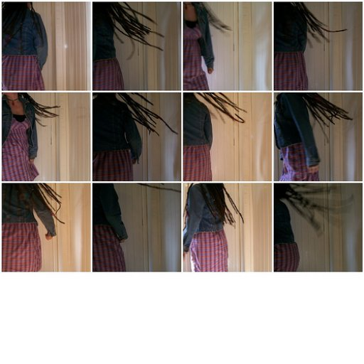 Twirling those dreds :)