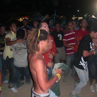 dancing around...