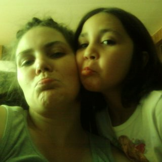 This is Isabelle and I, practicing our pouts.