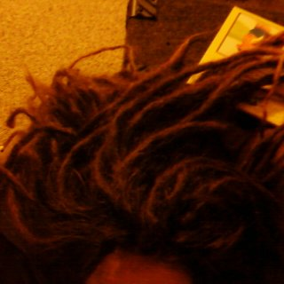 This is around 2 months after my dreads were put in. You still can't see the full length...