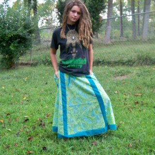 modeling a skirt I made this summer :)