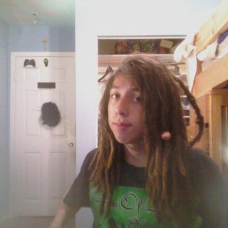 Again more old pictures of my dreadlocks