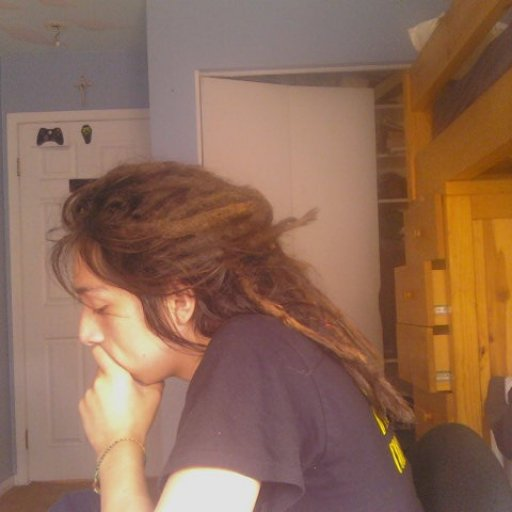 Thinking (when i had dreadlocks)
