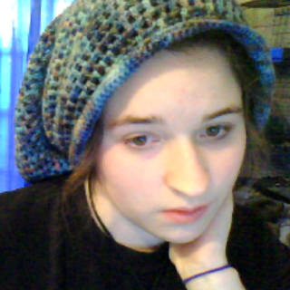 New wool tam!!! I love this freaking hat! the wool is super soft and hand dyed, so no two skeins are ever exactly alike!