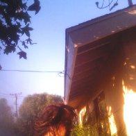 Outside(when i had dreadlocks)