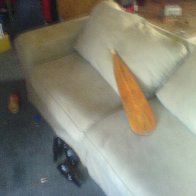 The Couch, before burning