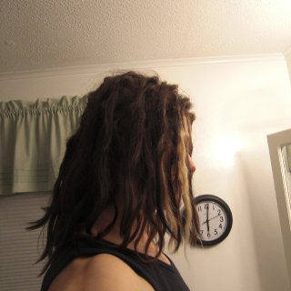 2 month 10 day dreads
