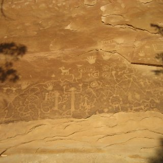 petroglyphs of mesaverde co