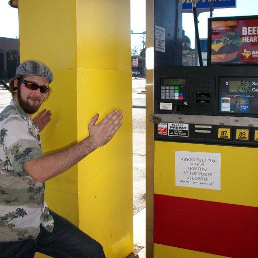 No Kung Fu at the Gas pumps.