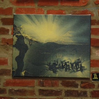 supreme sunrise 16x20 stretched canvas prints- 80.00