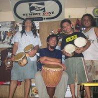 hand drummers!