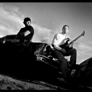 My band Emissary. It was very cold and windy day we did our band pics.