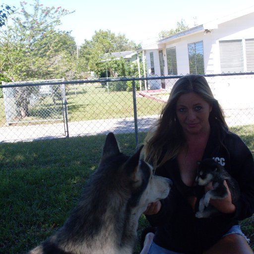 Taskee Pup & I in 2008