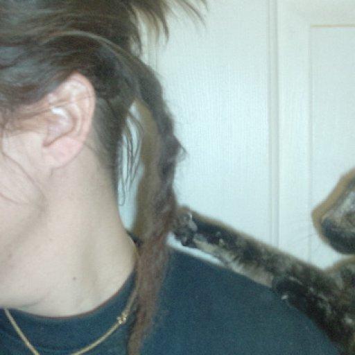 Oreo likes dreads :)