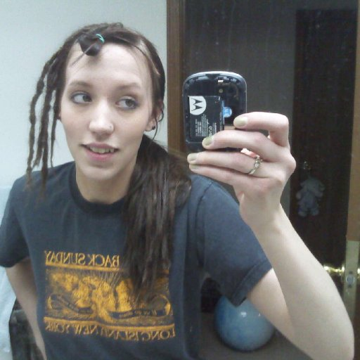 starting the dreads.