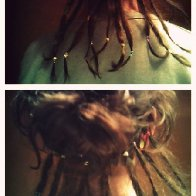 Making the dreadlocks