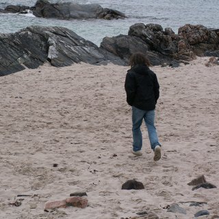 my holidays to my home island on the west coast of scotland :)