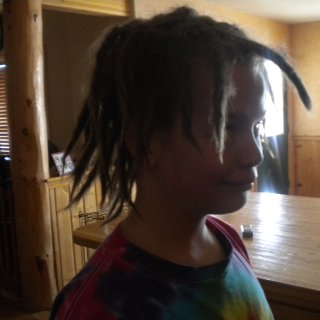 my true first day of haveing dreads twist and rip