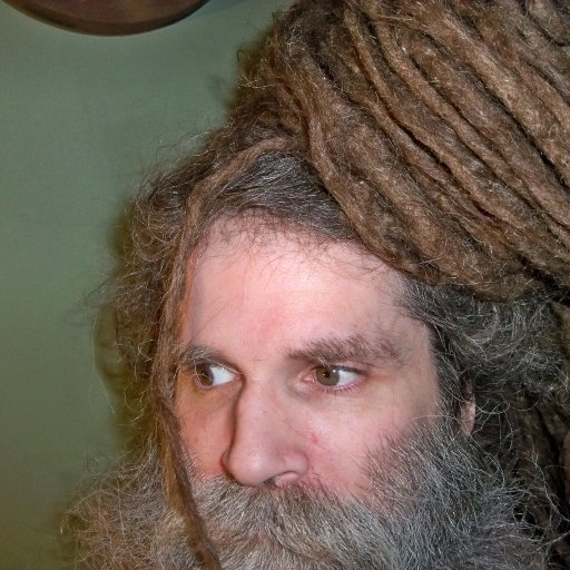 dreads tied up