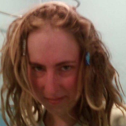 I love mah messy hair!