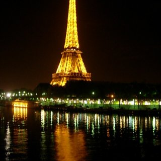 paris at night