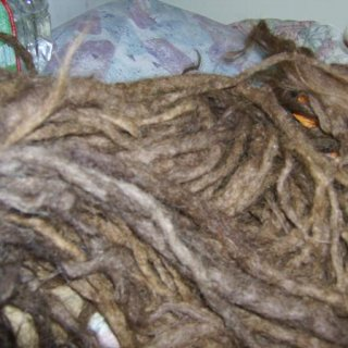 piles of dreads