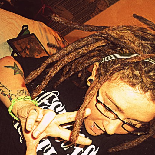 crochet'd %100 percent human hair into my dreads...gonna look fly this summer :)