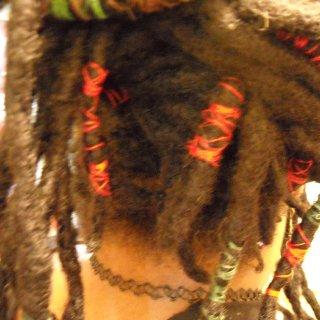 faerie wraps on my wild vines chestnut brown dye 2008