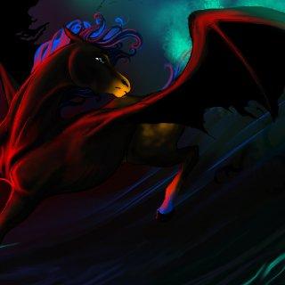 bat winged pega