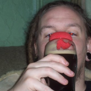 red nose a sure sign of drunkenness