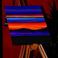 multi colour sky