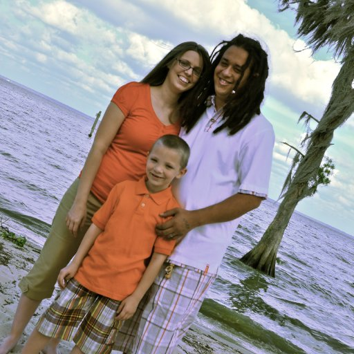at the lake, kickin it wit the fam