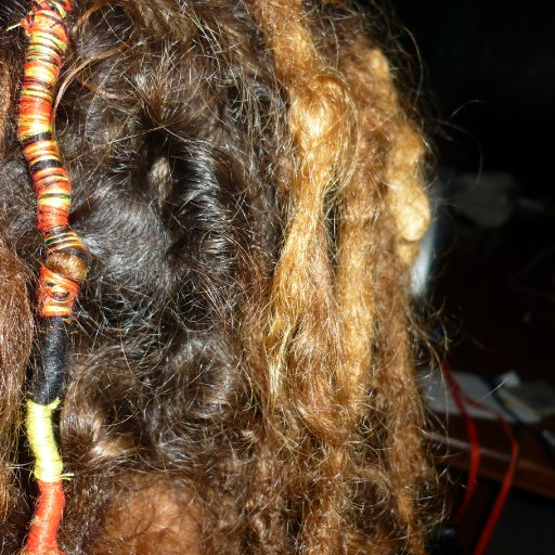 close up aboriginal wrap