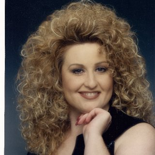 Here I am circa 1980's...yup, that's alot of hair!