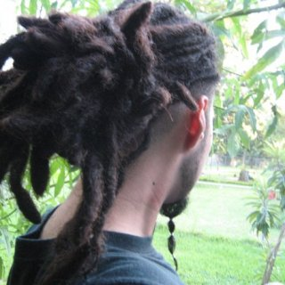 My dreads back in 2006