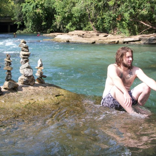 Bhuggy's river rock towers.