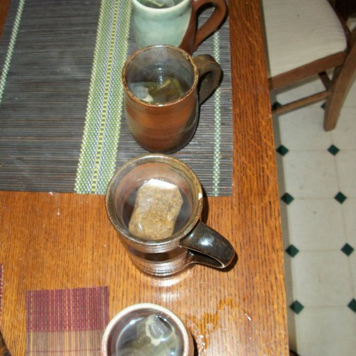 Tea time for 4.