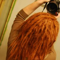 dreads back 1st  wash