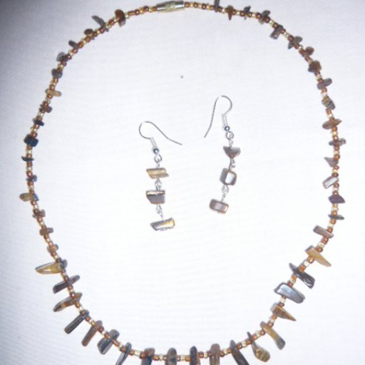 stone neck piece