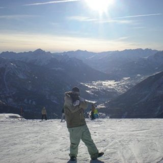Once again taking photo in the beautiful ALPS