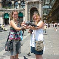 pigeon ladies =D