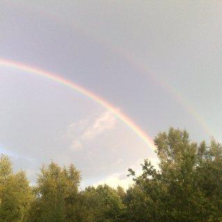 Rainbow. August 2010